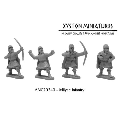 Milyae infantry