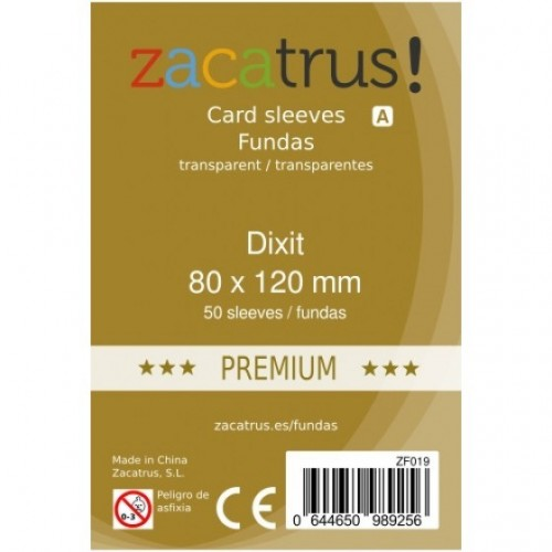 Fundas Zacatrus Dixit premium (80x120mm)