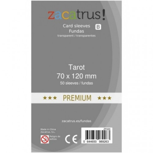 Fundas Zacatrus Tarot Premium (70x120mm)