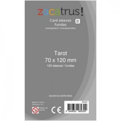 Fundas Zacatrus Tarot (70x120mm)