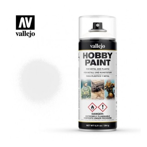 Vallejo: White Primer 400 ml.
