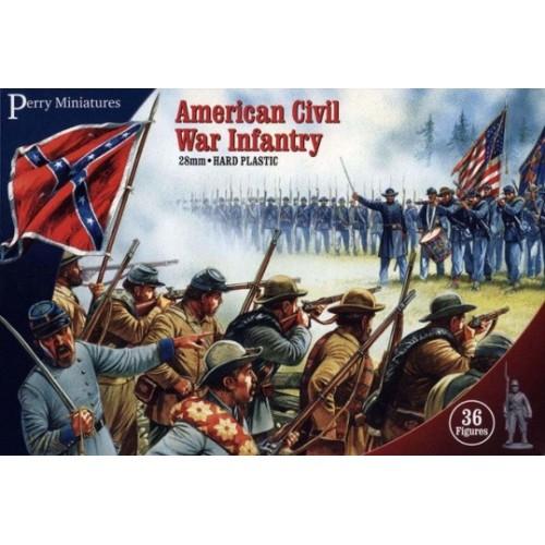 Caja de infanteria de Guerra civil Americana