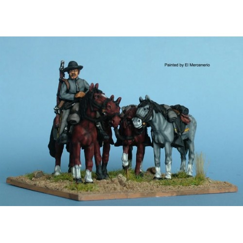 Confederate horse holder