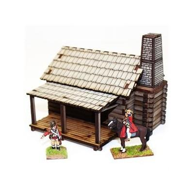 New England Settler's Cabin