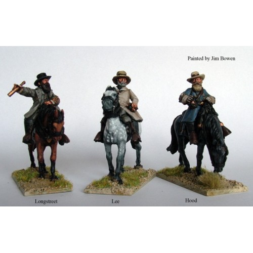 Confederate Mounted Commanders