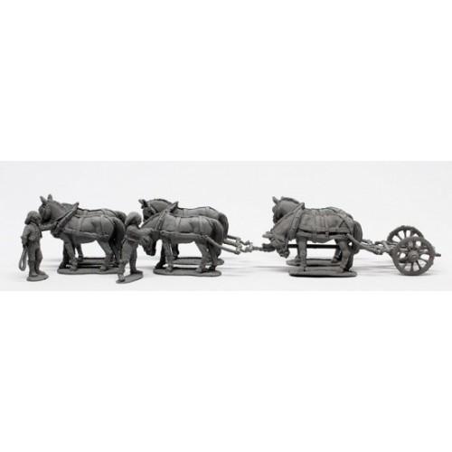 Six mule limber
