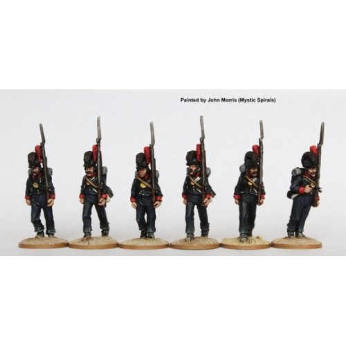 Fusiliers marching
