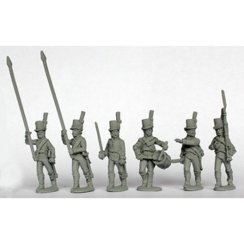 Infantry command advancing 1808-09