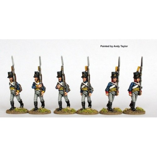 Infantry marching 1808-09