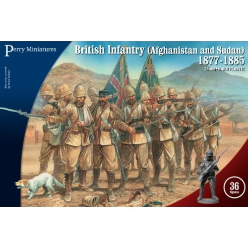 British Infantry in Afghanistan and Sudan 1877-85