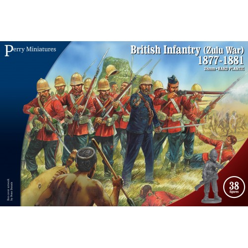 British Zulu War Infantry