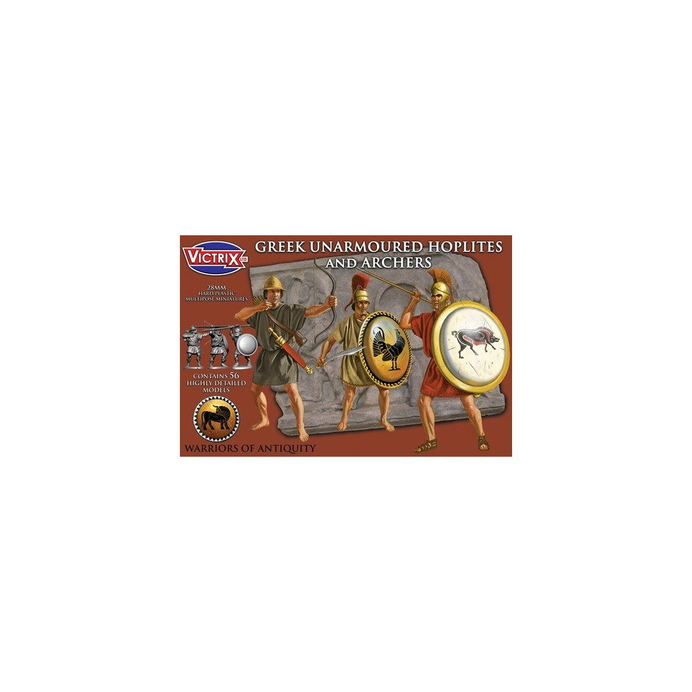 Greek Unarmoured Hoplites and Archers