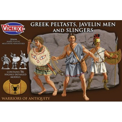 Greek Peltasts and Slingers