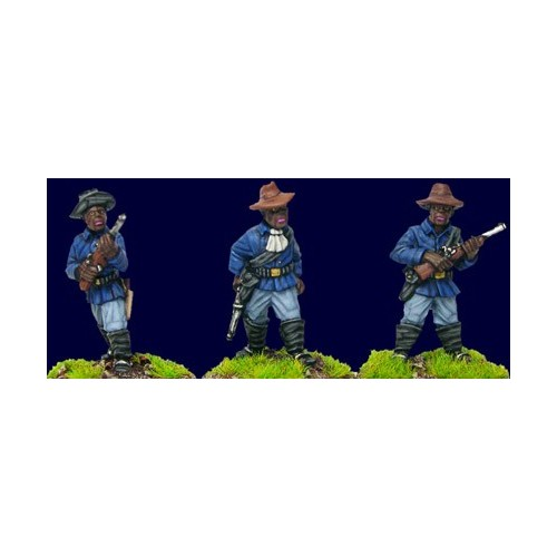 Buffalo Soldiers with Carbines (Foot)