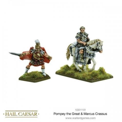 Pompey the Great & Marcus Crassus