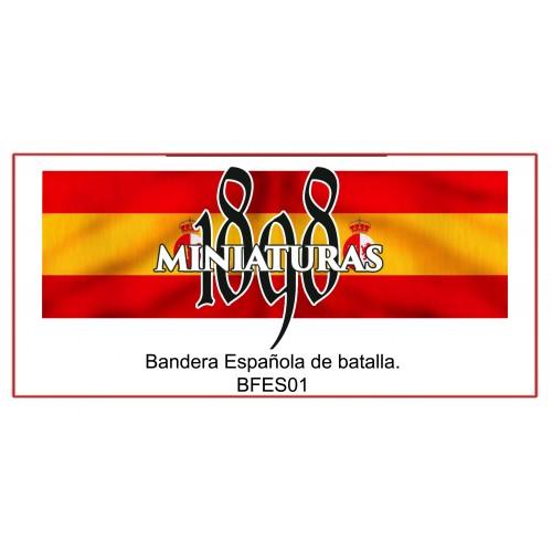 Bandera Española de batalla