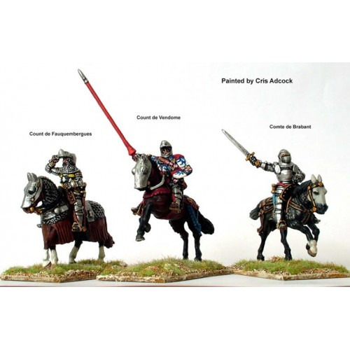 French Moun.command at Agincourt
