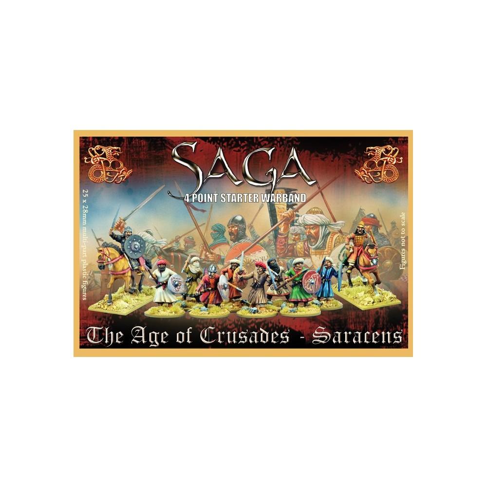 Plastic Saracen SAGA Starter Warband (4 points)