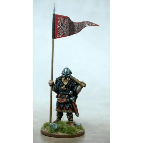 Viking Warbanner & Bearer