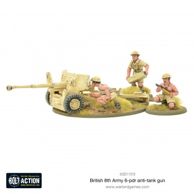 8th Army 6 Pounder