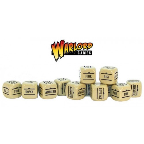 Bolt Action Orders Dice packs - Sand