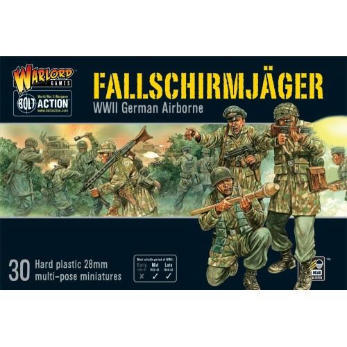 Fallschirmjager Plastic Box