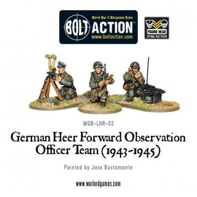 German Heer Forward Observation Team (FOO)