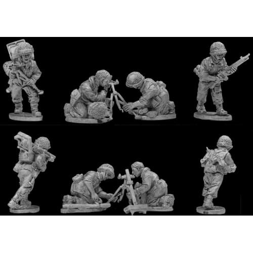 Paratroopers 60mm mortar teams