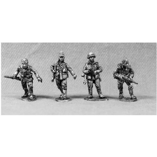 Four veteran Wehrmacht lead by their sergeant