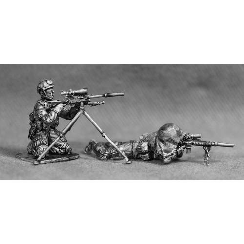 Sniper y Marksman ( SR25 y MK13)