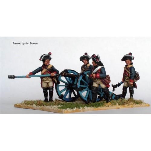 Hesse-Cassel Artillery Loading Swedish 4 pdr