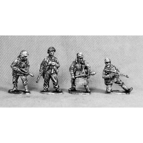 Volks Grenadiers officers and NCO's