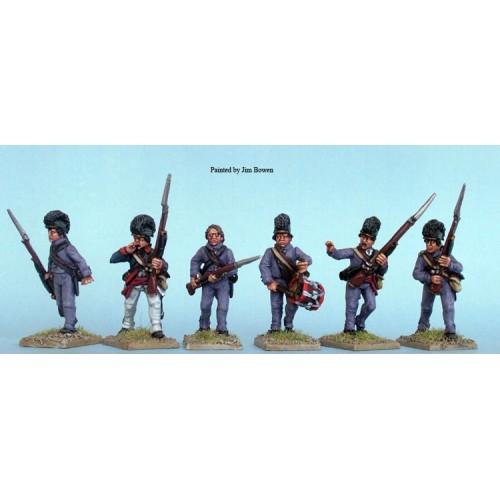 Lee's Legion Foot command advancing