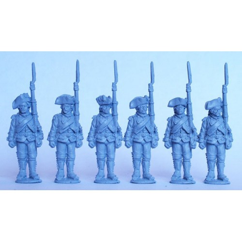 French Chasseurs standing