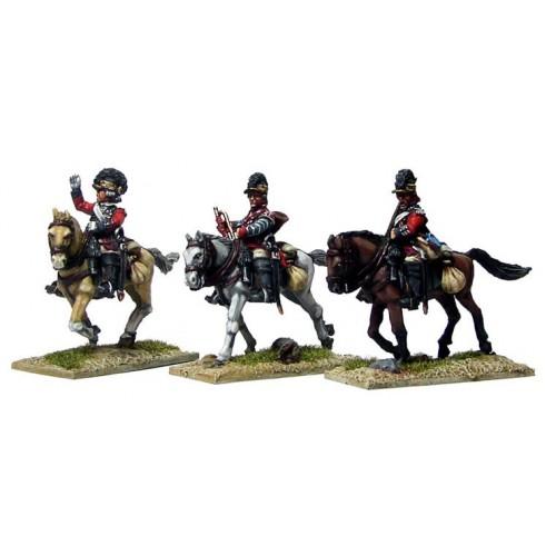 16th Light Dragoon Command in Tarletons