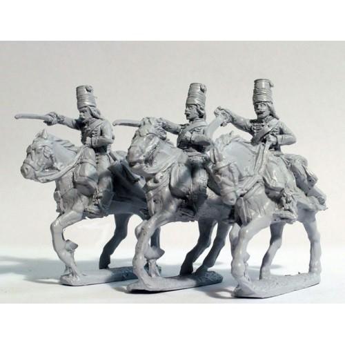 Hussars swords charging