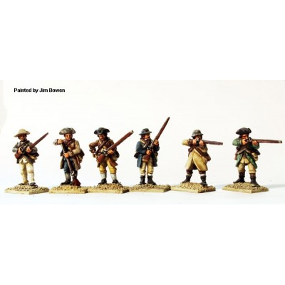 Northern Militia  firing line