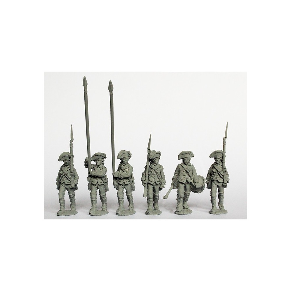 Spanish Infantry command marching