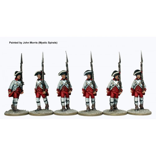 Spanish Fusiliers marching