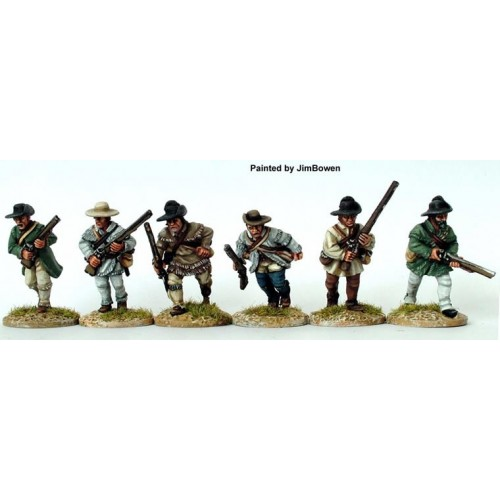 Riflemen advancing