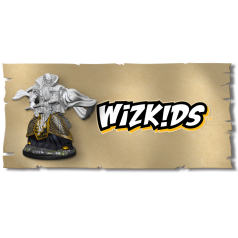 Wizkids Unpainted Miniatures