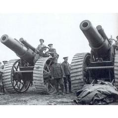 Artilleria WWI (Sin tripulacion)