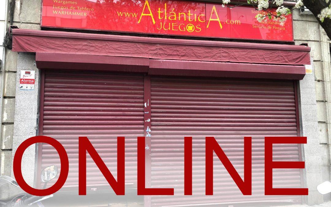 Actualización de venta online